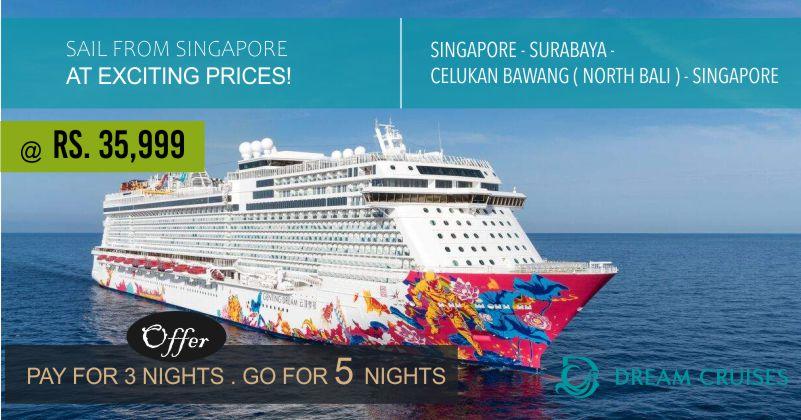 Dream cruise offer